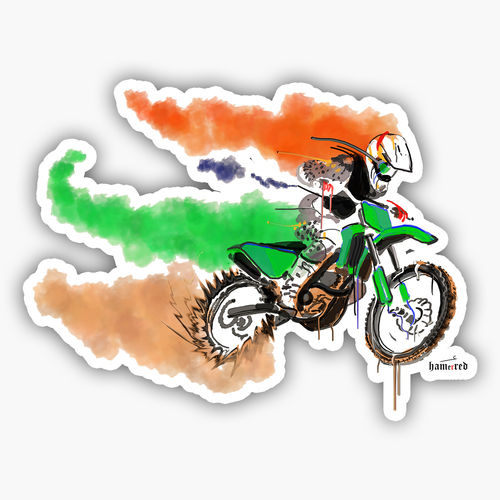Fastest indian sticker