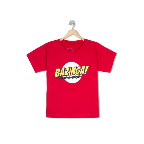 BAZINGA - Organic cotton tee for toddlers