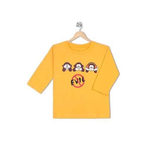 3 Monkeys - Organic cotton tee for toddlers