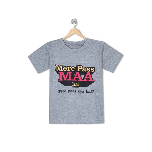 Mere Paas Maa hai  - Organic cotton tee for toddlers