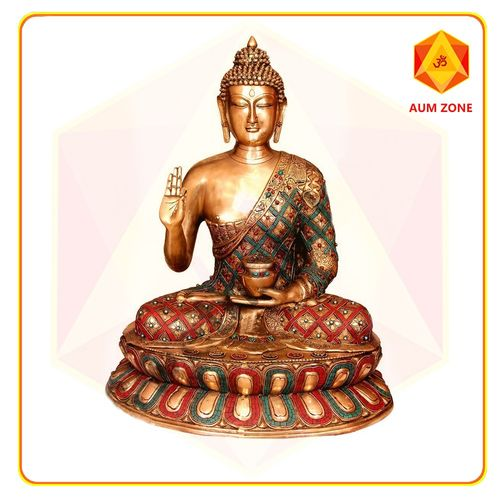 Buddha Sitting on Lotus