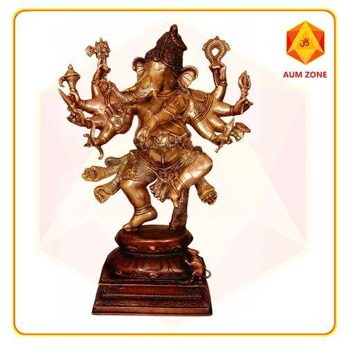 Ganesh in Brass