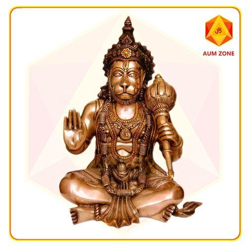 Hanuman in Brass