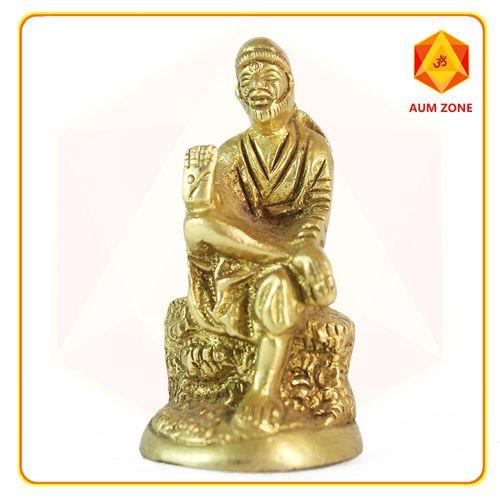 Sai Baba Small Brass Murthi