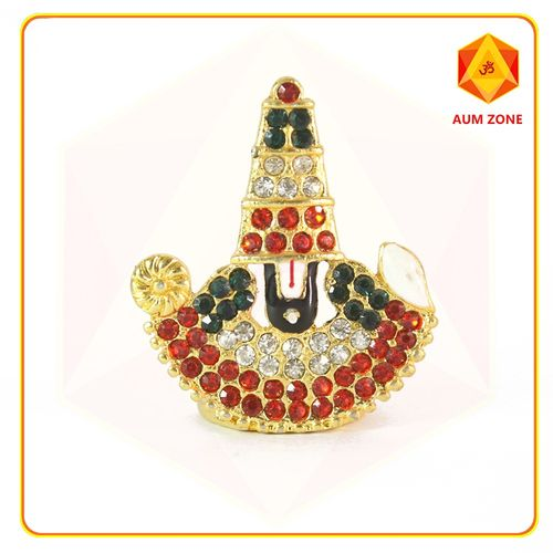 Balaji Face Multi Coloured Studed Murthi
