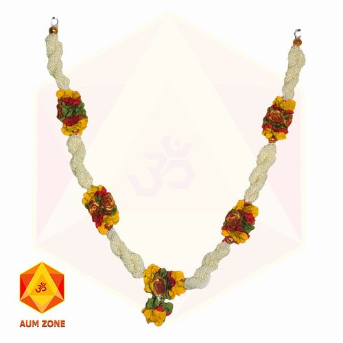 Bead Garland With Yellow Flower