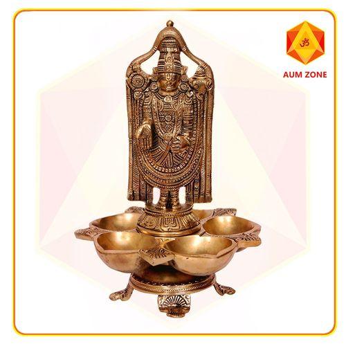 Balaji with Panch Diya Stand