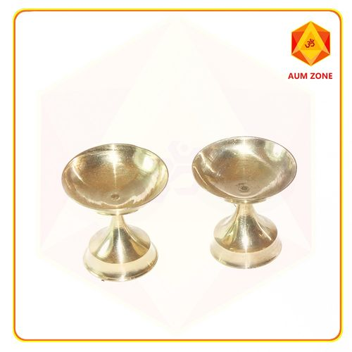 2 inches plain diya