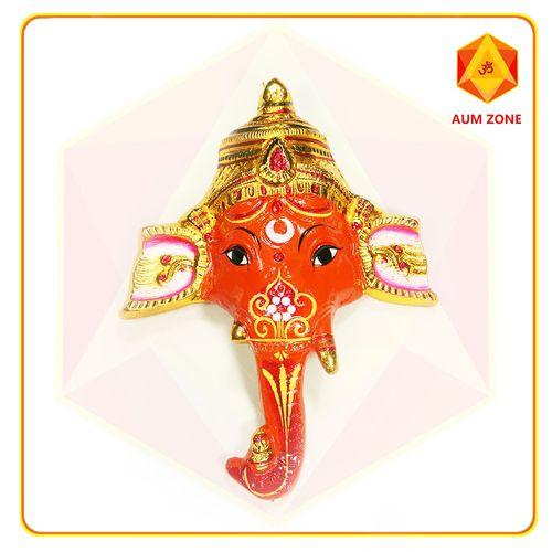 Metallic Orange Ganesh