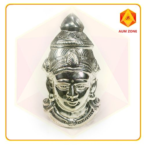 Shiva in Silver Finish