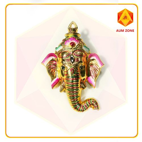 Ganesha in Gold Dull Metallic Finish