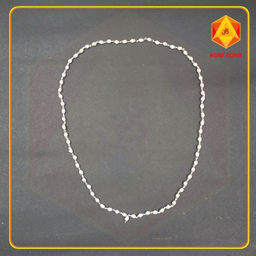 Tulsi Chain with Silver Capping
