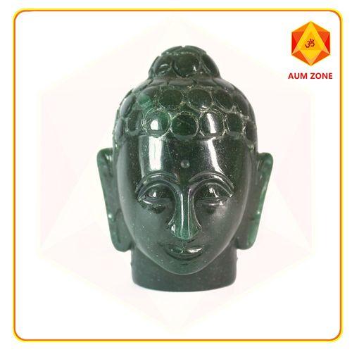 Green Jade Buddha Head