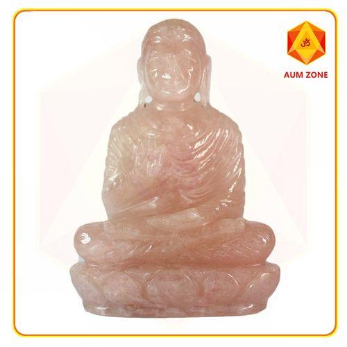 Rose Quartz Full Buddha