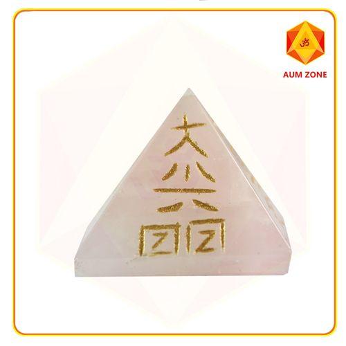 Rose Quartz Reiki Pyramid
