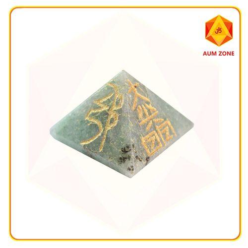 Green Aventurine Reiki Pyramid