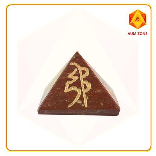 Red Jasper Reiki Pyramid