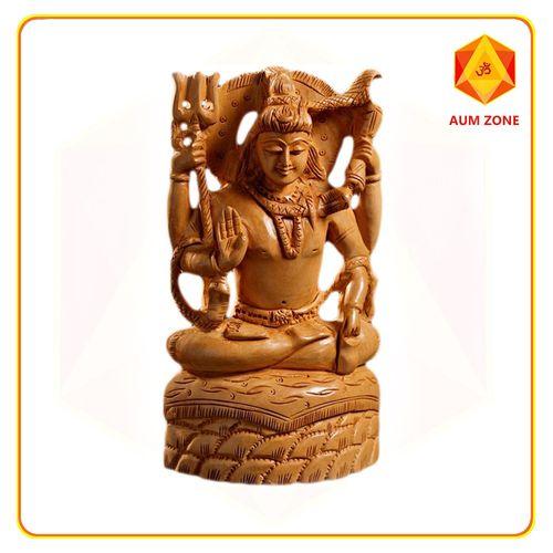 Shiva in Wood