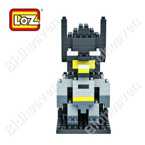 Batman Figure Mini Nano Micro Building DIY Block Brick - LOZ