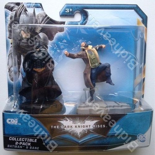 The Dark Knight Rises Batman and Bane Action Figure Toy by Jakks Pacific