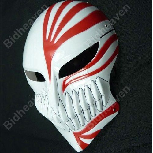 Bleach Hollow Ichigo Kurosaki Full Face PVC Mask