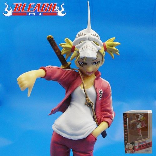 Bleach Action Figure Visored Hiyori Sarugaki with mask 1/8 Scale