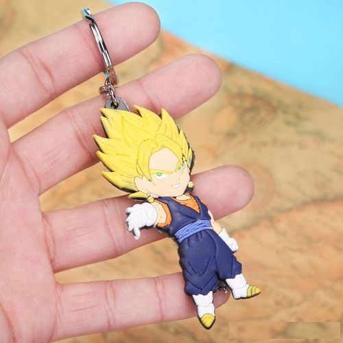 Dragon Ball Z Vegito Goku Vegeta Super Saiyan Keychain