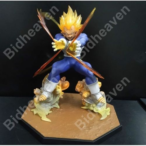 Dragon Ball Z Super Saiyan Vegeta Battle State Final Flash Action Figure