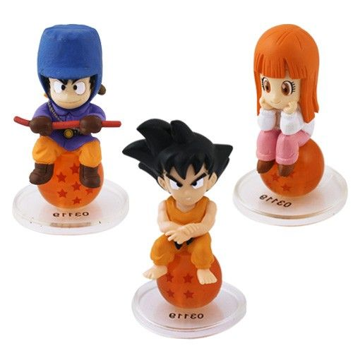 Dragon Ball Z Mini Action Figure - 3 Pcs Set