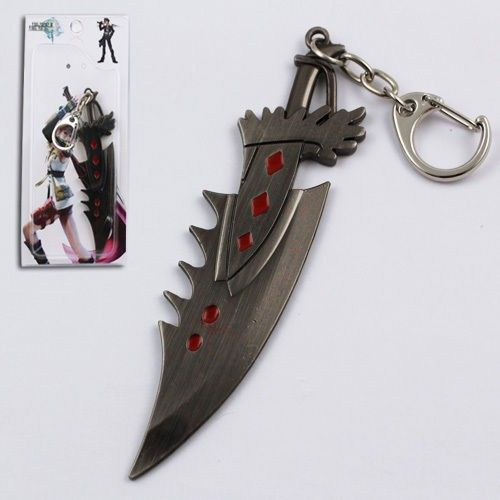 Final Fantasy XIII Sword Metal Keychain