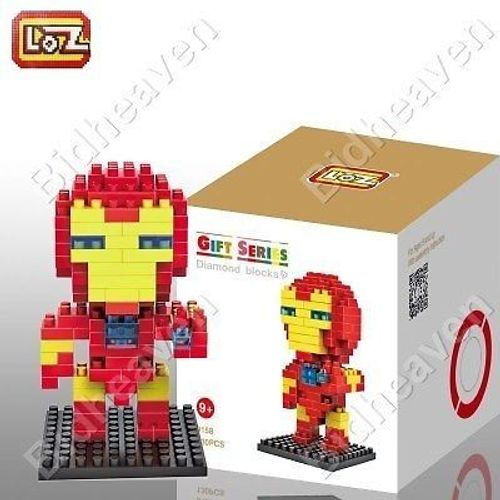 Iron Man Figure Mini Nano Micro Building DIY Block Brick - LOZ