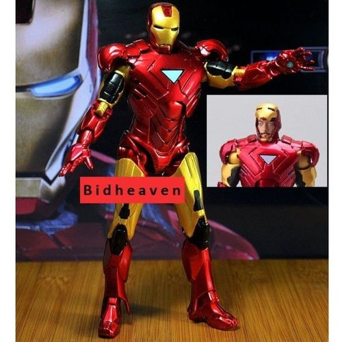 Iron Man Avengers Tonny Stark Mark 42 PVC Action Figure