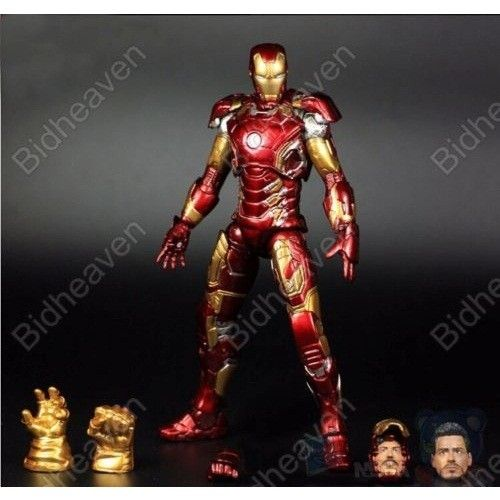 Iron Man Mark 43 XLIII Avengers Age of Ultron PVC Action Figure Toy