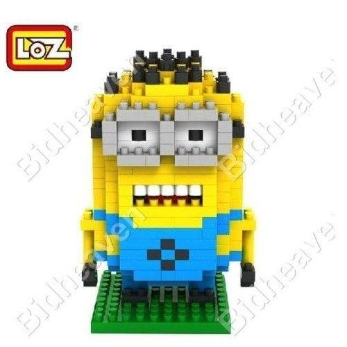 Despicable Me Minion Jorge Figure Nano Building Blocks - LOZ