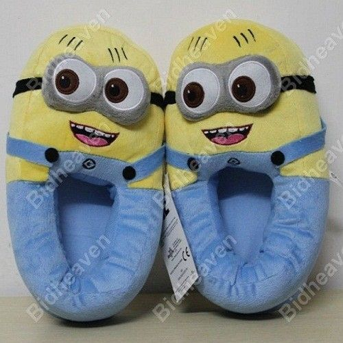 Despicable Me Minions Jorge Soft Plush Slippers shoe