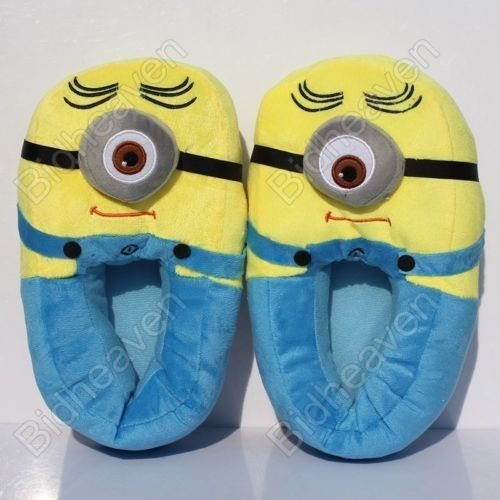 Despicable Me Minions Stewart Soft Plush Slippers shoe
