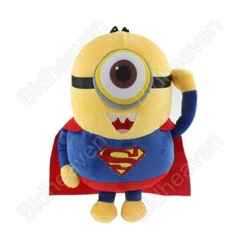 Despicable Me Cosplay Minions Superman Plush Doll