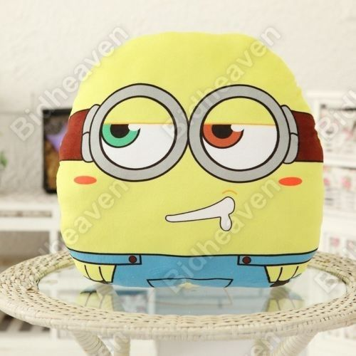 Bob Despicable Me Minion Soft Plush Cushion Pillow for Car Sofa