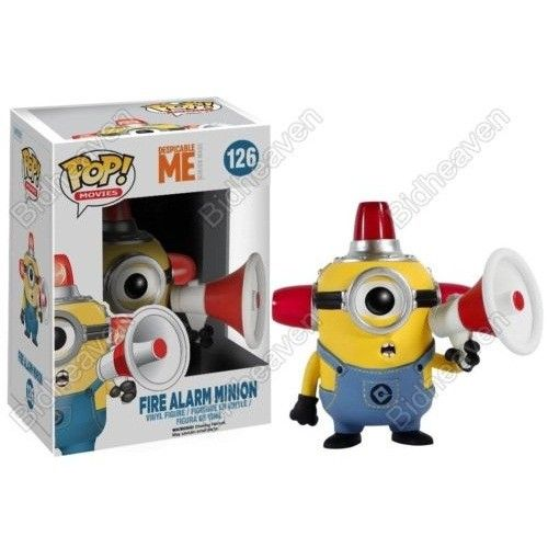 Funko Despicable Me Minion Fire Alarm Action Figure