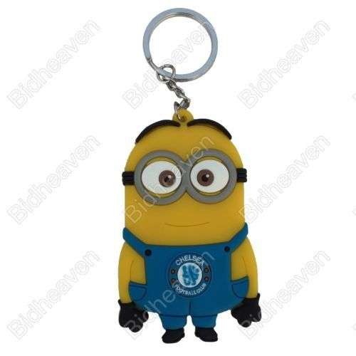 Despicable Me Minion Keychain Keyring Key Chain Ring