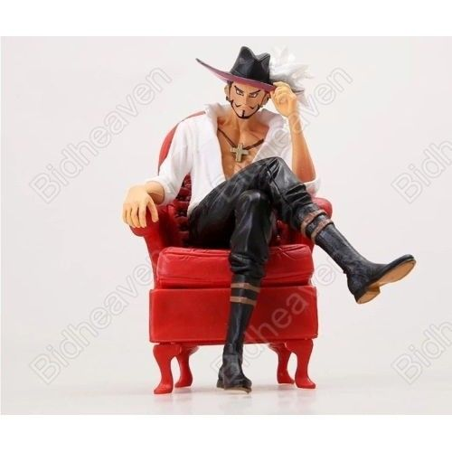 One Piece Portrait Of Pirates Dracule Mihawk With Chair Action Figure