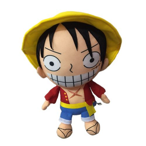 Anime One Piece Monkey D Luffy Soft Plush Stuffed Toy Teddy Doll - 16 Inch