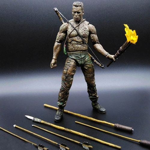 Predator Action Figure Series 9 Arnold Jungle Disguise Dutch Action Figure
