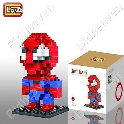 Spiderman Spider Man Figure Mini Nano Micro Building DIY Block Brick - LOZ