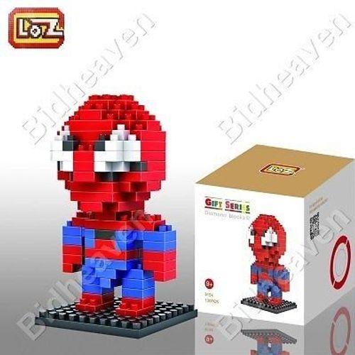 Spiderman Spider Man Figure Mini Nano Micro Building DIY Block Brick - LOZ