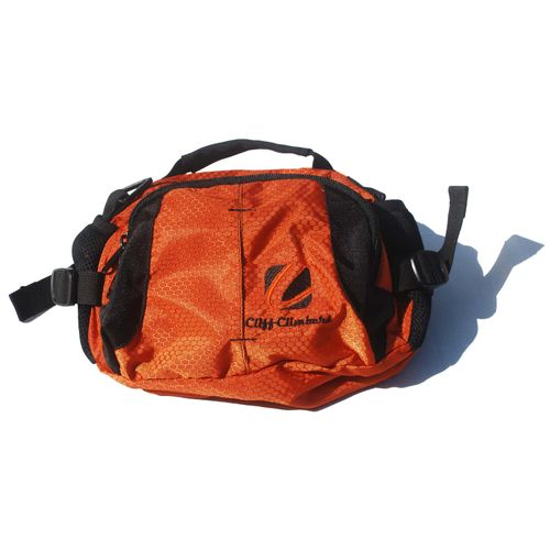 Cliff Climbers WAIST POUCH orange/Black