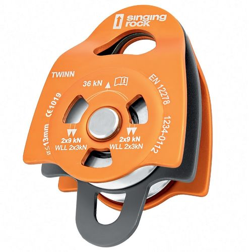 Twin Roll Pulley Singing Rock