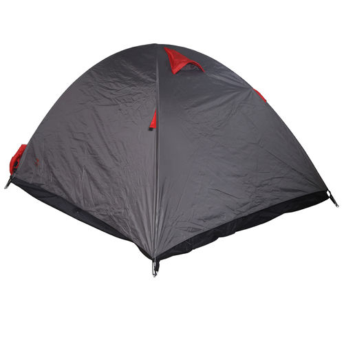 Tent Dome 2 Civil Red & Grey