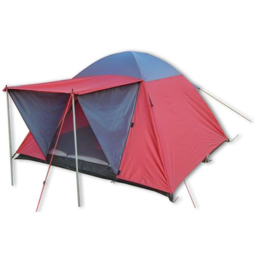 Tent Valle Red & Grey