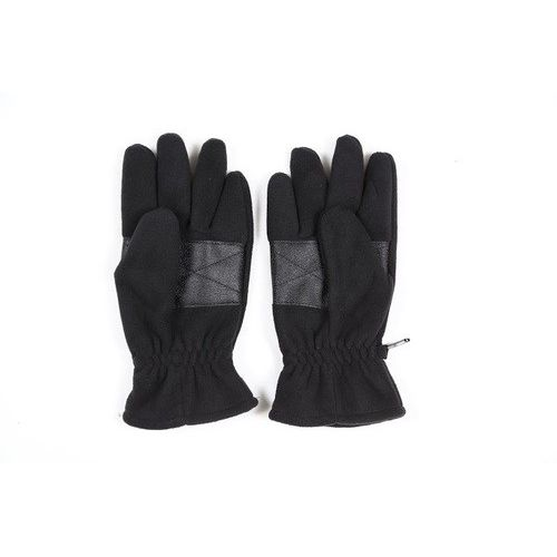 Hand gloves fleece wind proof full Black